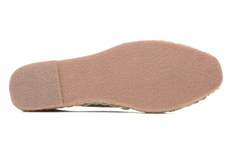 Espadrilles I Love Shoes THETE Argent vue haut