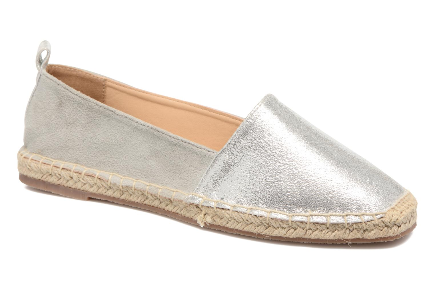 Espadrilles I Love Shoes THETE Silver detailed view/ Pair view