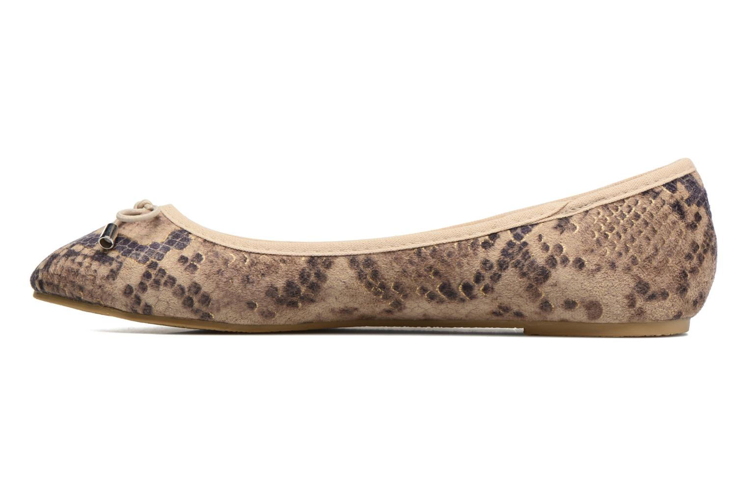 Ballet pumps I Love Shoes THENSELY Beige front view