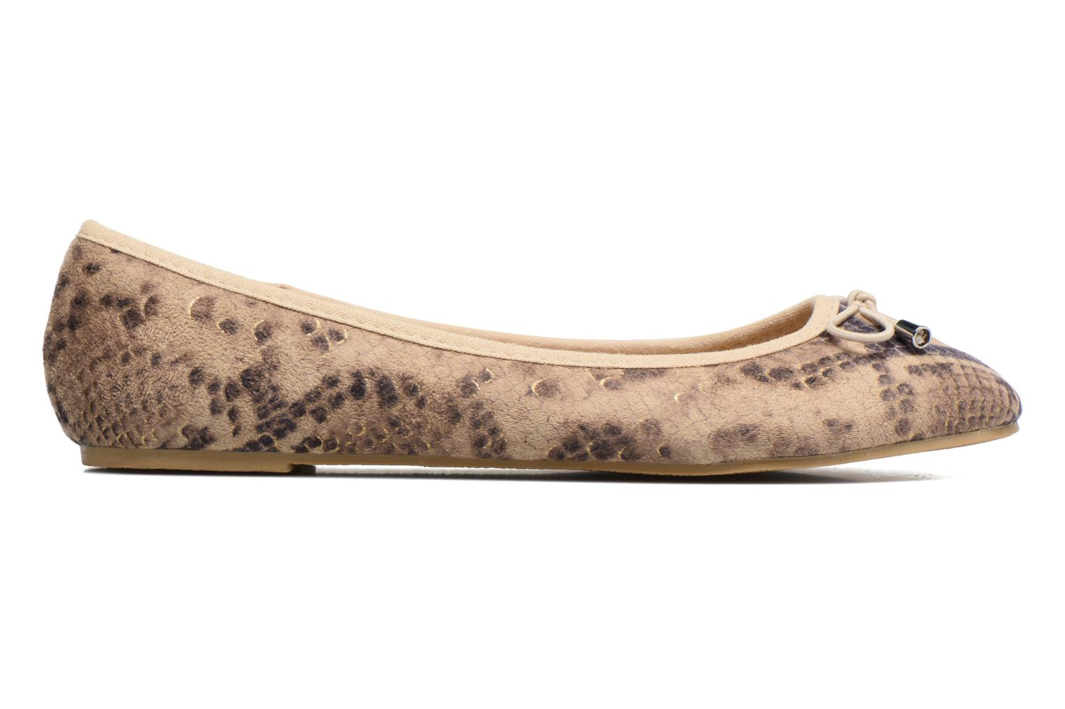 Ballet pumps I Love Shoes THENSELY Beige back view