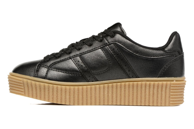 Baskets I Love Shoes THOMI Noir vue face