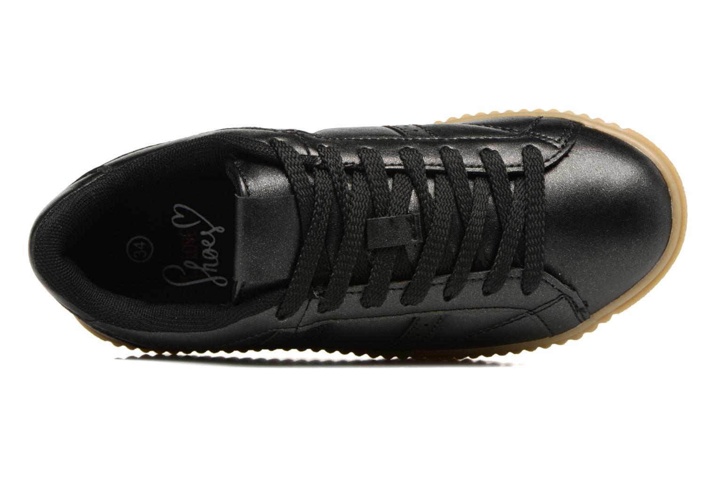 Baskets I Love Shoes THOMI Noir vue gauche