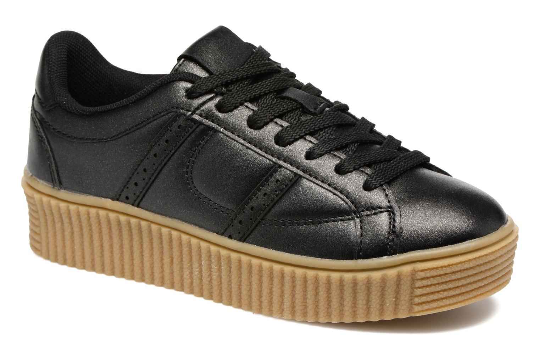 Baskets I Love Shoes THOMI Noir vue détail/paire