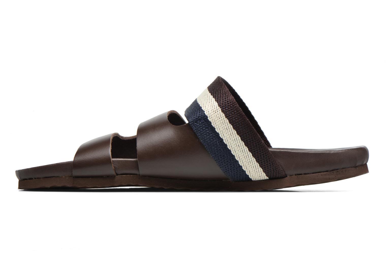 Sandales et nu-pieds Gioseppo Pompilio Marron vue face