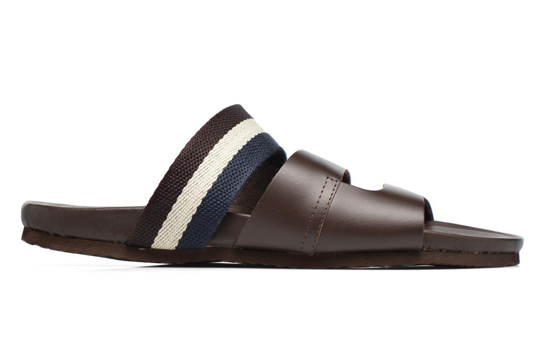 Sandales et nu-pieds Gioseppo Pompilio Marron vue derrière