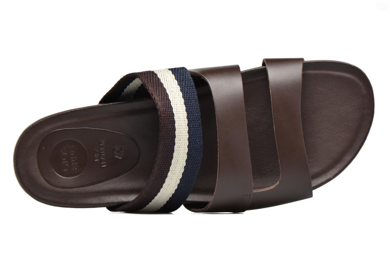 Sandales et nu-pieds Gioseppo Pompilio Marron vue gauche