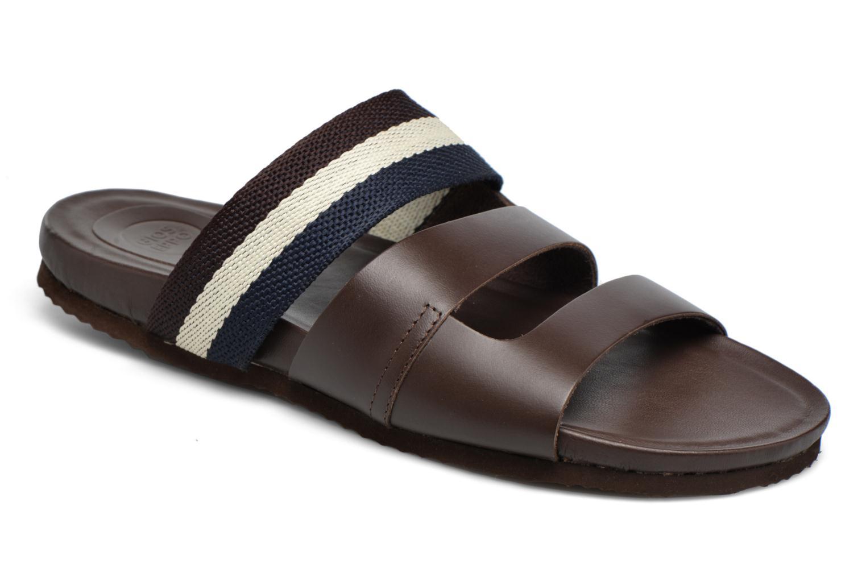 Sandales et nu-pieds Gioseppo Pompilio Marron vue détail/paire