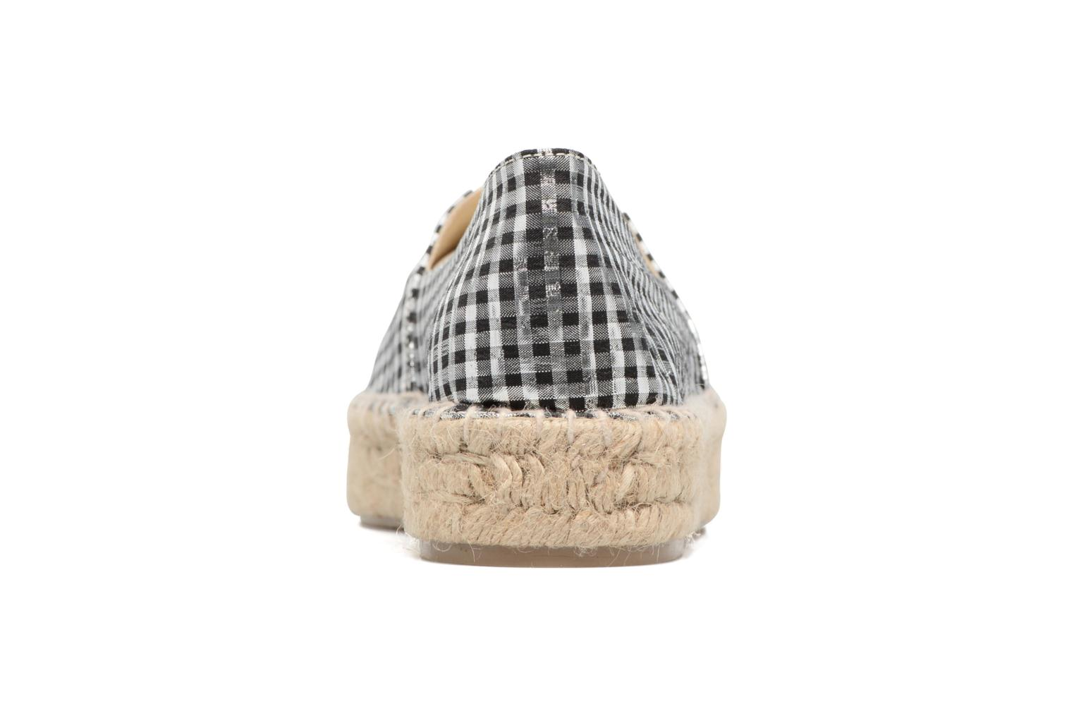 Espadrilles Apologie Yvette Black view from the right