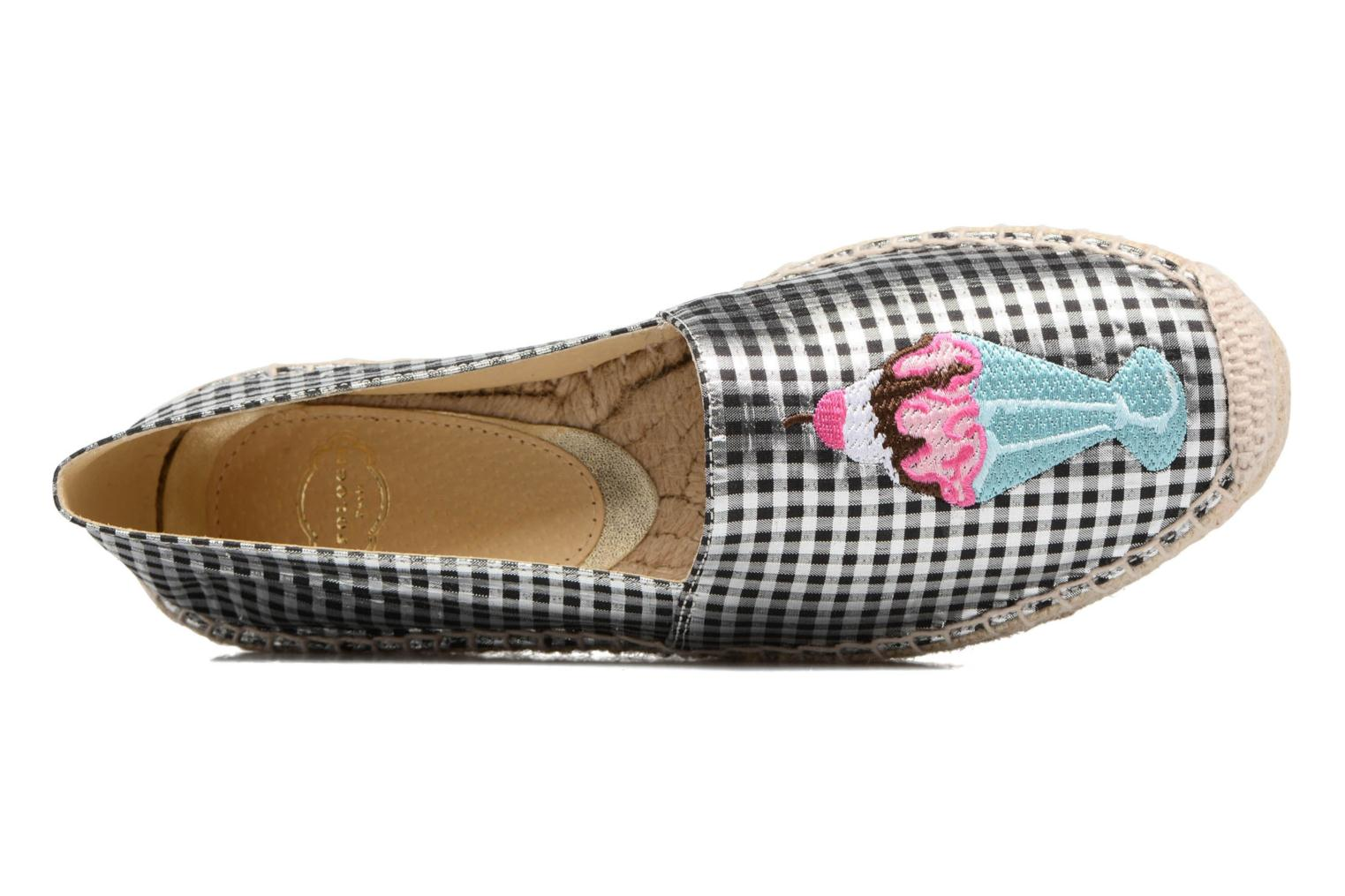 Espadrilles Apologie Yvette Black view from the left