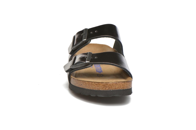 Mules et sabots Birkenstock Arizona W Gris vue portées chaussures
