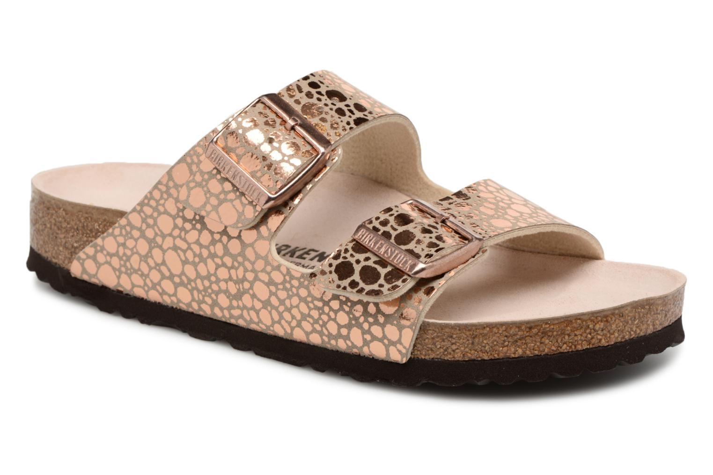 Los últimos zapatos de hombre y mujer Birkenstock bronce) Arizona W (Oro y bronce) Birkenstock - Zuecos en Más cómodo 3a57c6