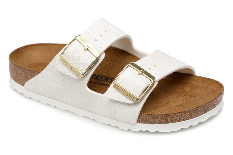 Zapatos cómodos y versátiles Birkenstock Arizona W (Blanco) Zuecos - Zuecos (Blanco) en Más cómodo 13adee