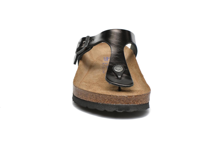 Sandales et nu-pieds Birkenstock Gizeh W Gris vue portées chaussures