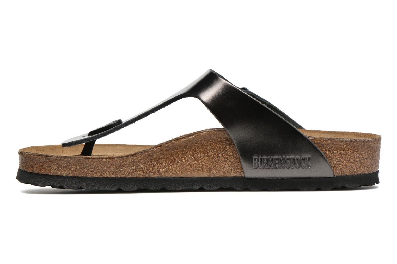 Sandales et nu-pieds Birkenstock Gizeh W Gris vue face