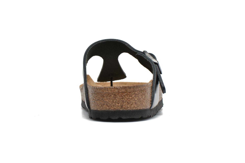 Sandales et nu-pieds Birkenstock Gizeh W Gris vue droite
