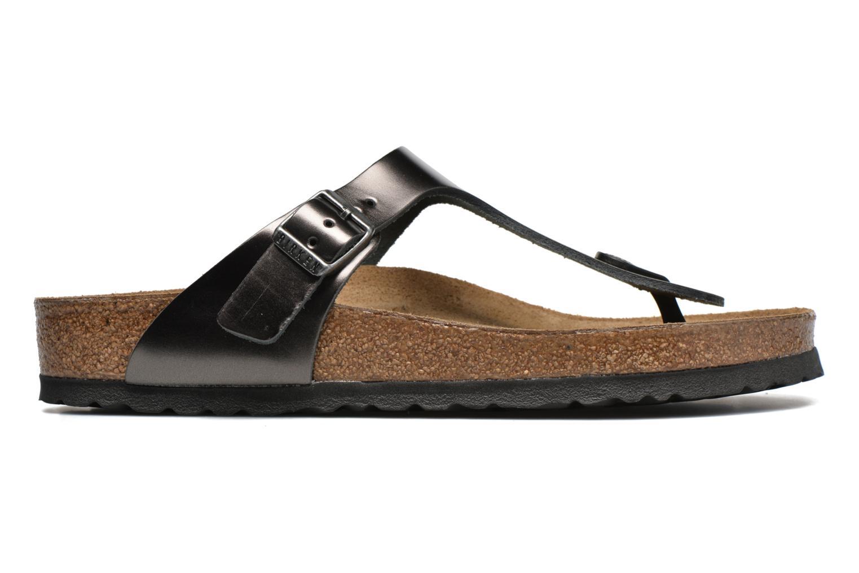 Sandales et nu-pieds Birkenstock Gizeh W Gris vue derrière