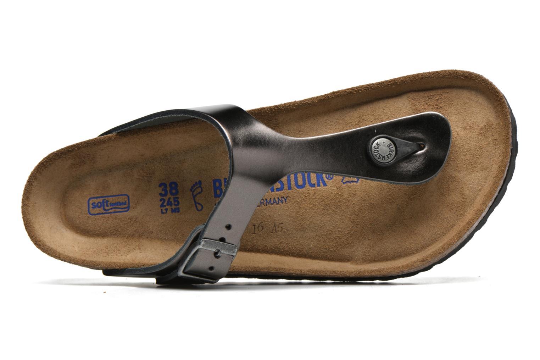 Sandales et nu-pieds Birkenstock Gizeh W Gris vue gauche
