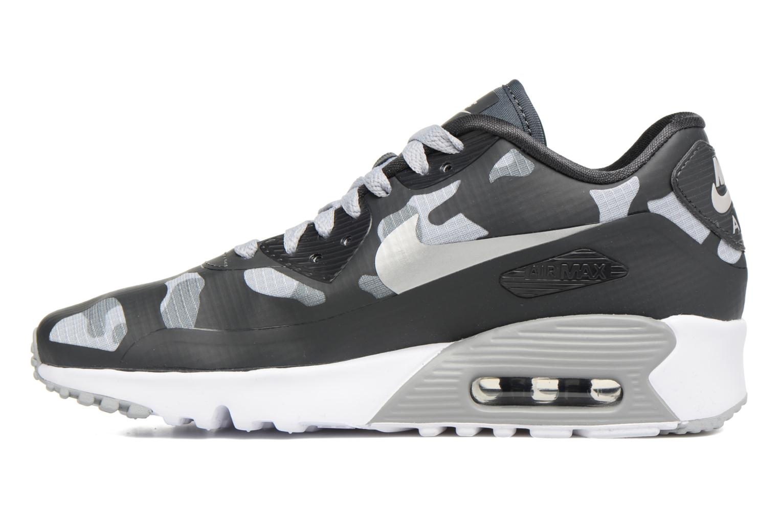 Baskets Nike Nike Air Max 90 Ns Se (Gs) Gris vue face