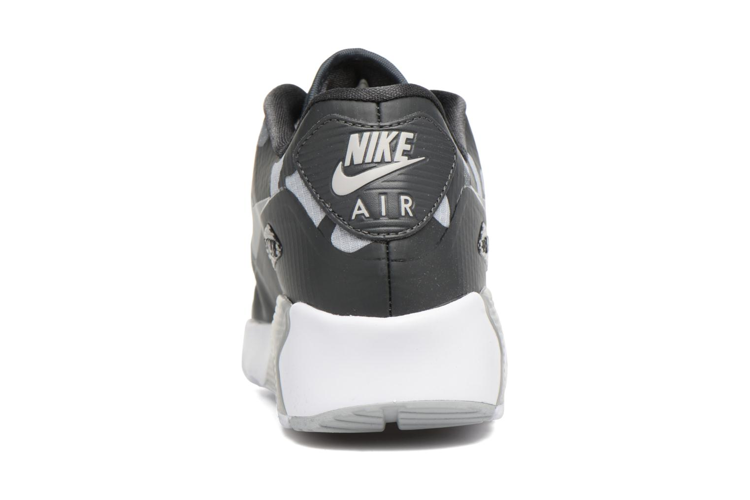 Nike Air Max 90 Ns Se (Gs) Anthracite/Metallic Silver-Wolf Grey