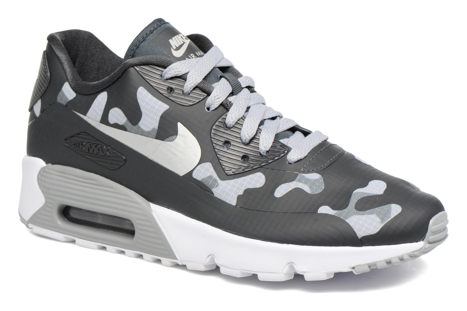 Baskets Nike Nike Air Max 90 Ns Se (Gs) Gris vue détail/paire