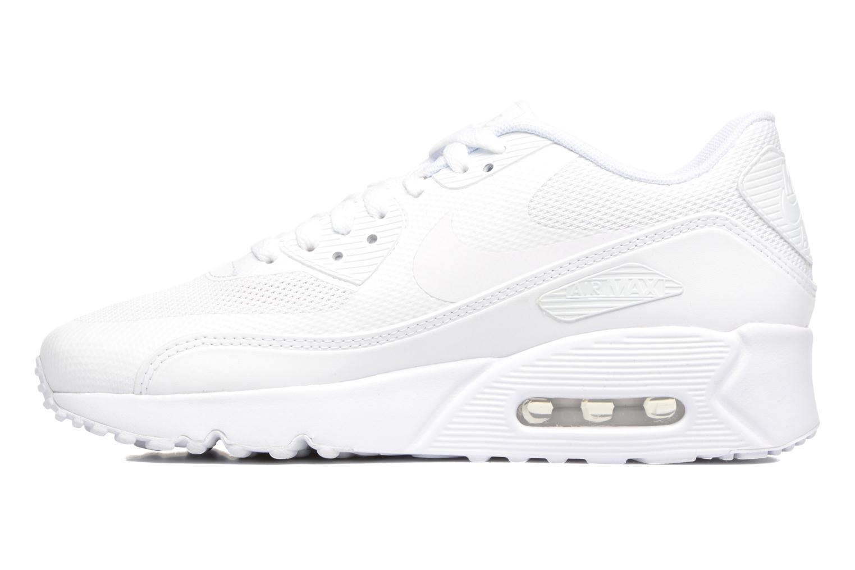 Sneaker Nike Nike Air Max 90 Ultra 2.0 (Gs) weiß ansicht von vorne
