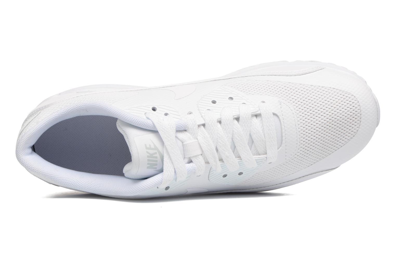 Sneaker Nike Nike Air Max 90 Ultra 2.0 (Gs) weiß ansicht von links