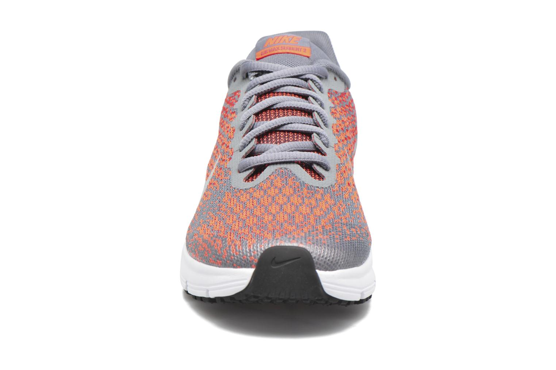 Nike Air Max Sequent 2 (Gs) Cool Grey/Metallic Silver-Max Orange