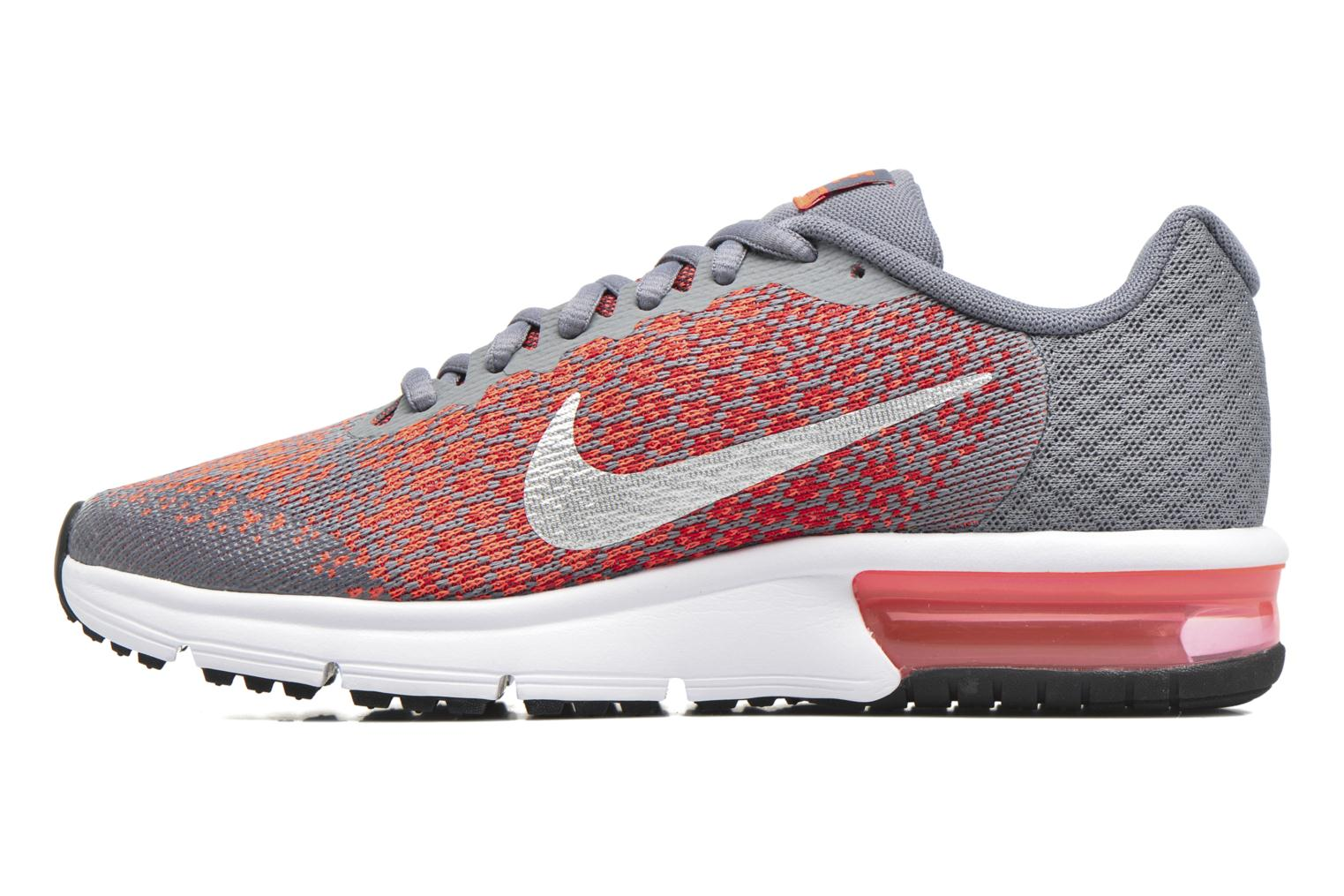Baskets Nike Nike Air Max Sequent 2 (Gs) Orange vue face