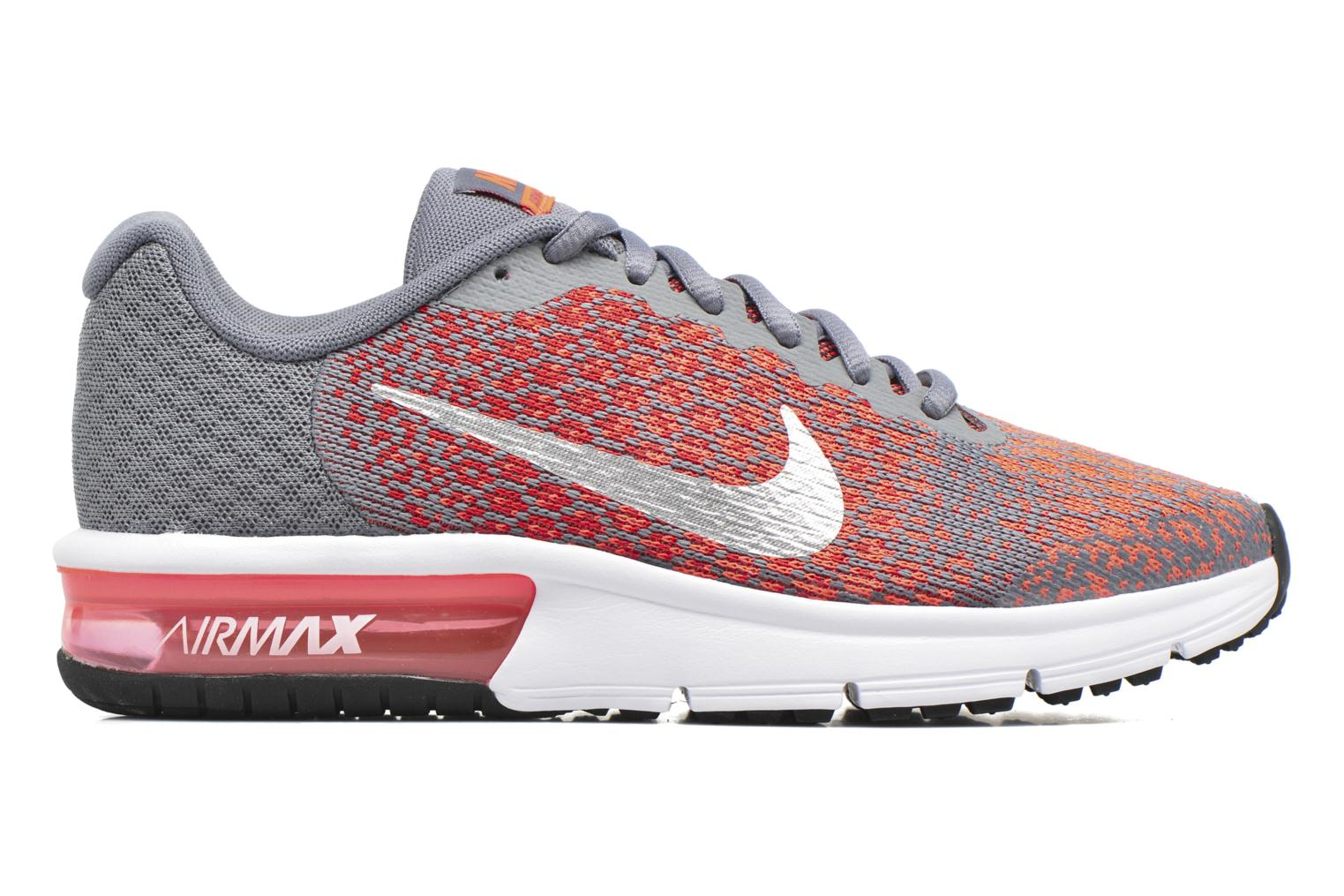 Baskets Nike Nike Air Max Sequent 2 (Gs) Orange vue derrière