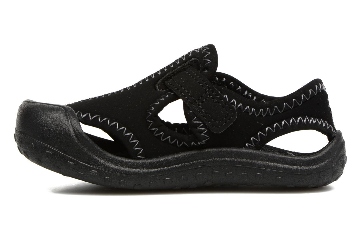 Sandals Nike Nike Sunray Protect (Td) Black front view