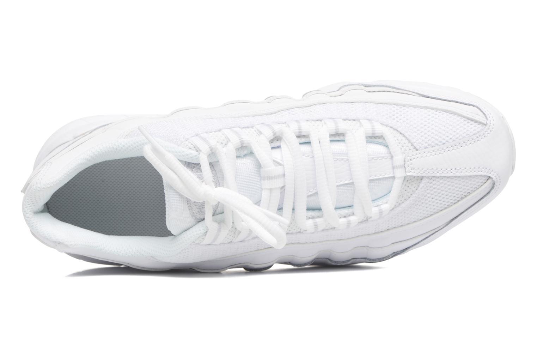 Baskets Nike Nike Air Max 95 (Gs) Blanc vue gauche