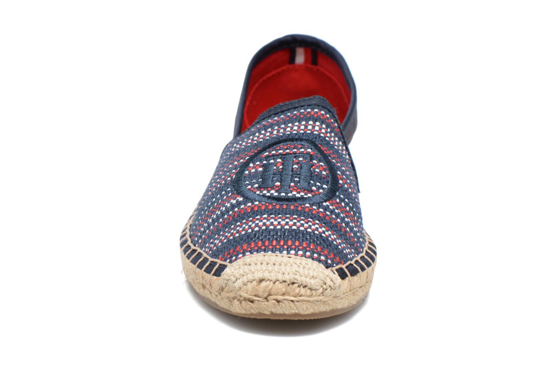 Espadrilles Tommy Hilfiger Lana 13D Bleu vue portées chaussures