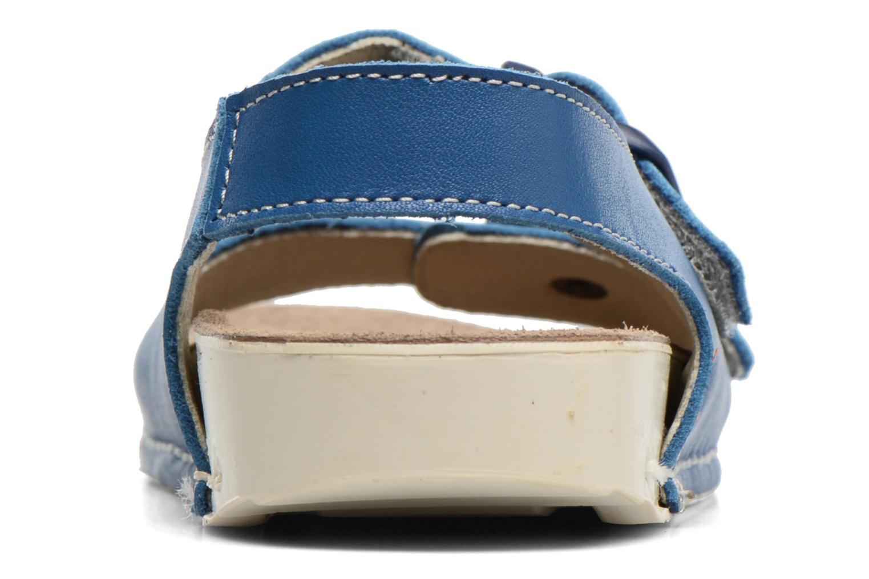 Sandales et nu-pieds Art A436 I Play Bleu vue droite