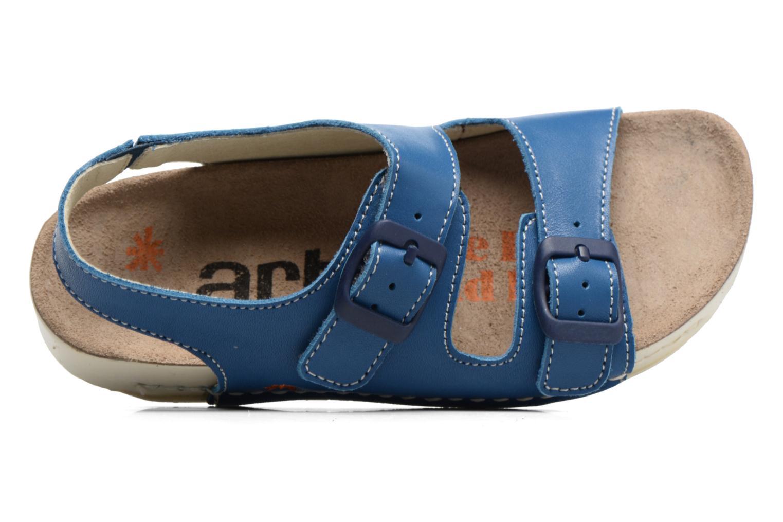 Sandales et nu-pieds Art A436 I Play Bleu vue gauche