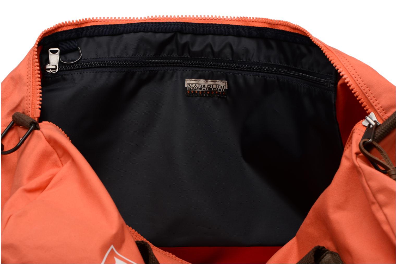 Sporttaschen Napapijri Bering A orange ansicht von hinten