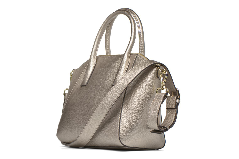 Isabeau Medium Satchel Silver