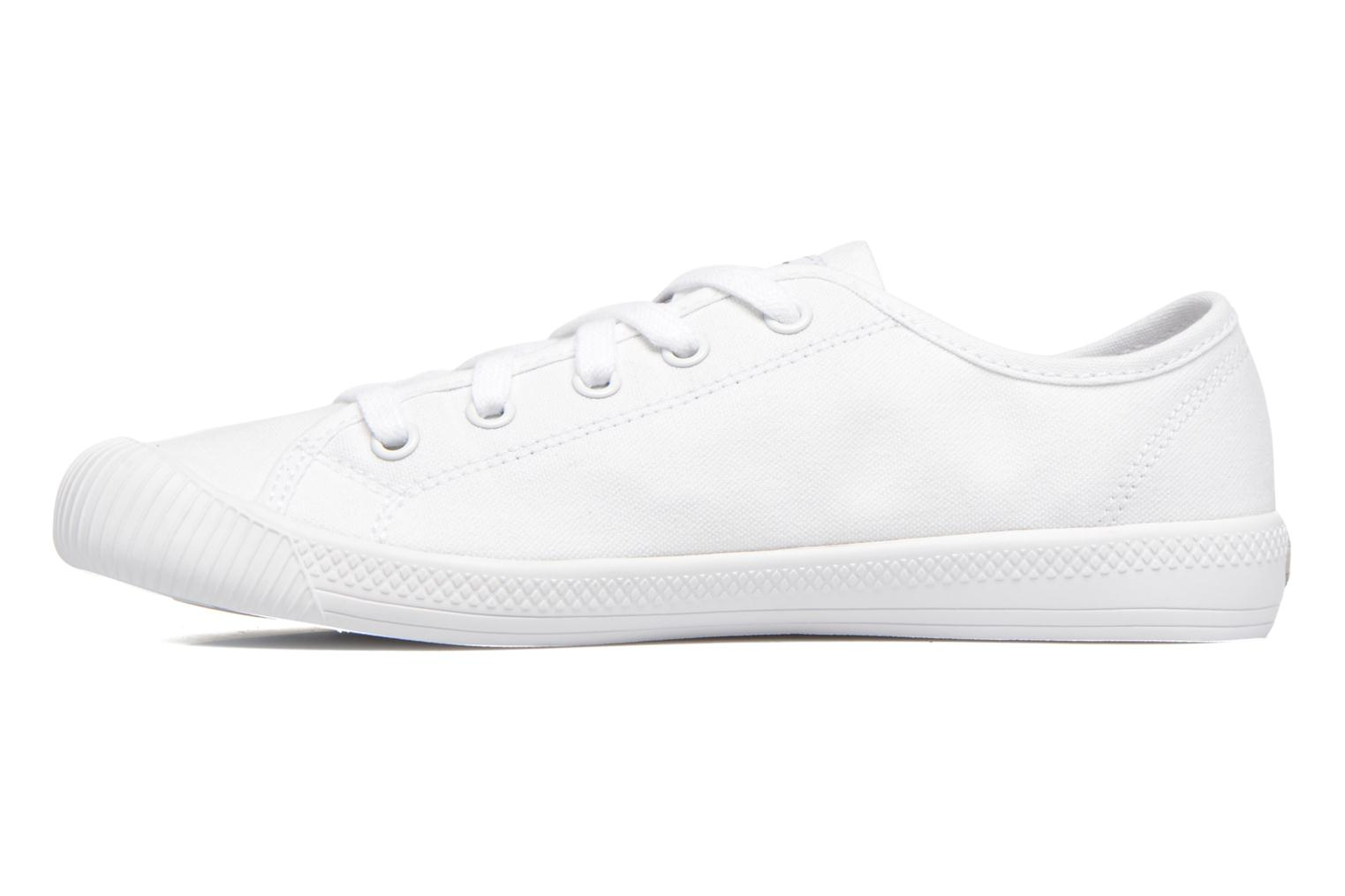 Deportivas Palladium Us Flex Lace F Blanco vista de frente