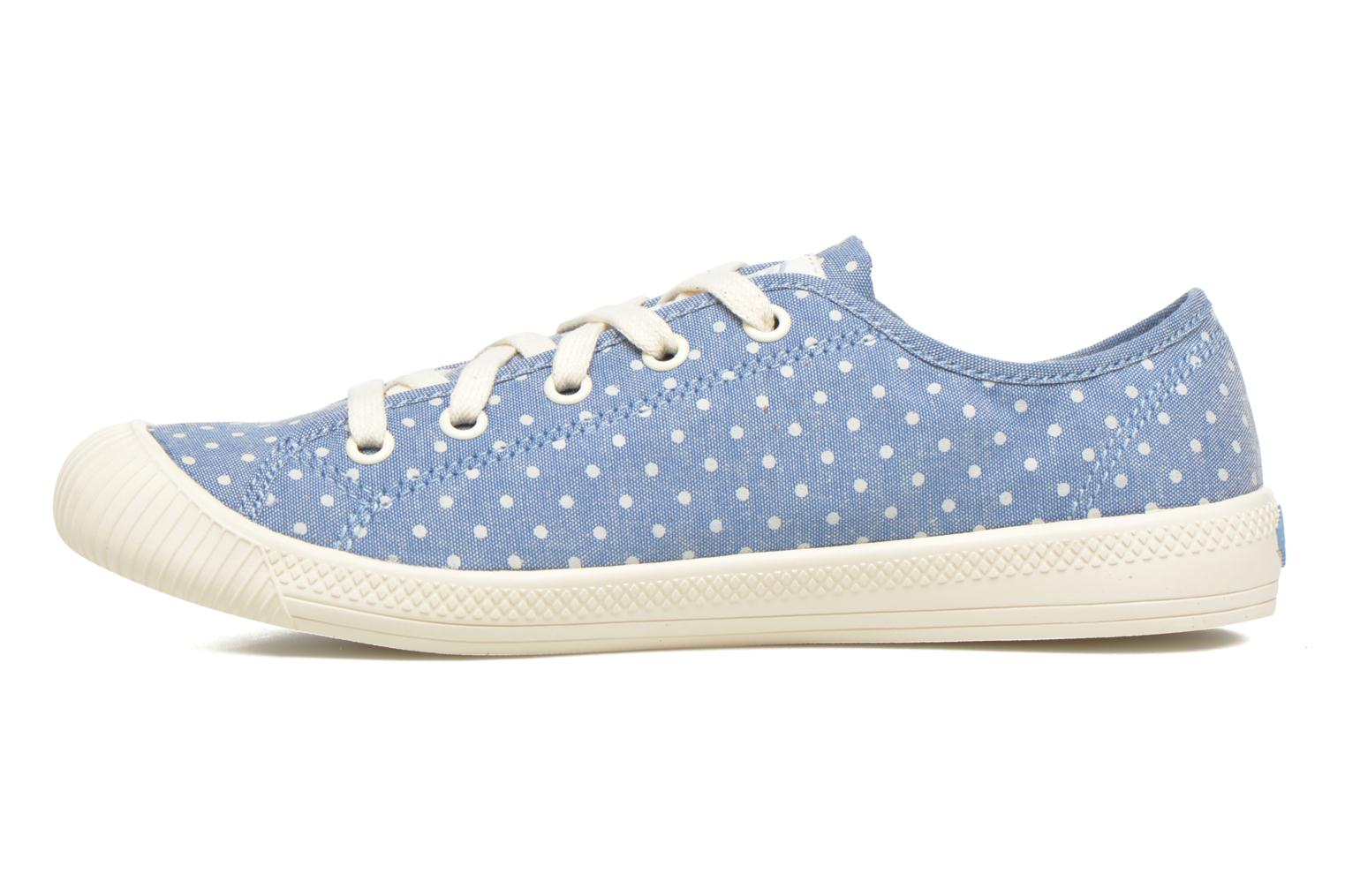 Flex Lace Pd W Blue/Antique White/Polka