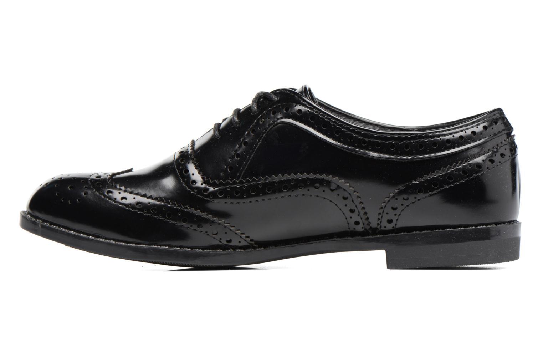 Chaussures à lacets I Love Shoes KIBROG Noir vue face