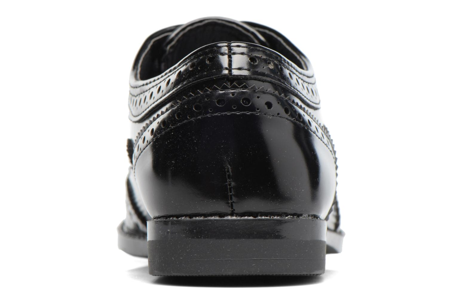 Lace-up shoes I Love Shoes KIBROG Black view from the right