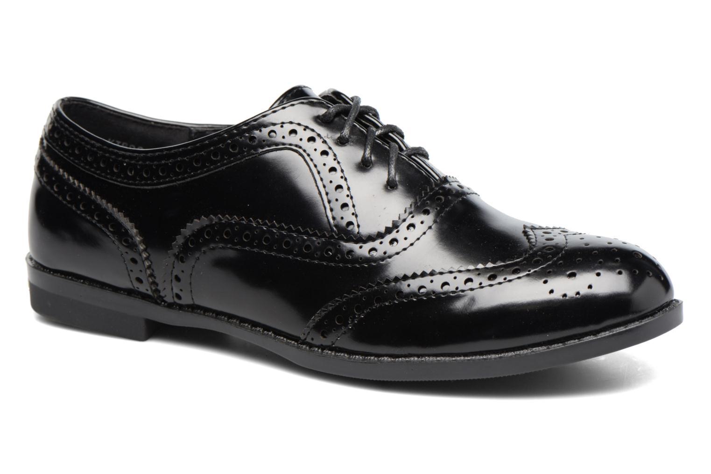 Chaussures à lacets I Love Shoes KIBROG Noir vue détail/paire