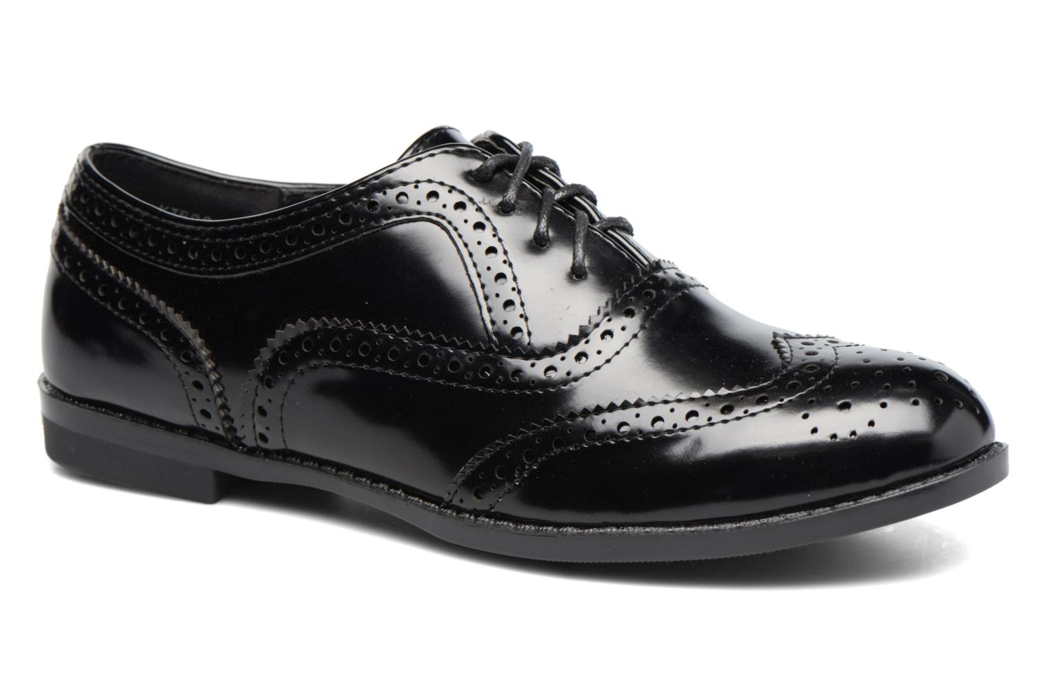 Lace-up shoes I Love Shoes KIBROG Black detailed view/ Pair view
