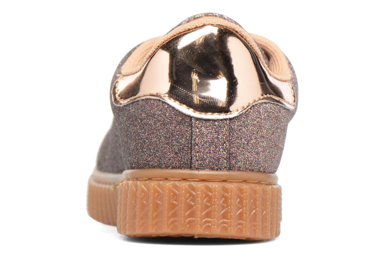 Sneakers I Love Shoes KISKLONG Bronze och Guld Bild från höger sidan