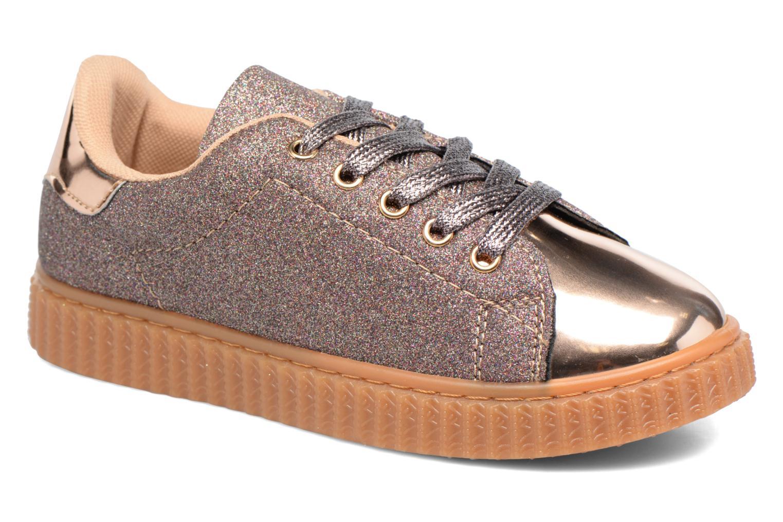 Sneakers I Love Shoes KISKLONG Bronze och Guld detaljerad bild på paret