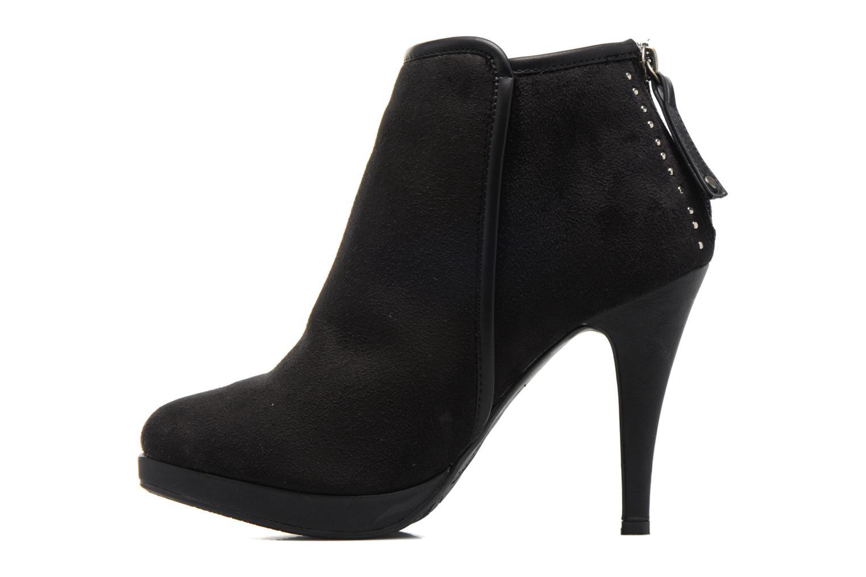 Boots en enkellaarsjes Refresh Elina-61124 Zwart voorkant