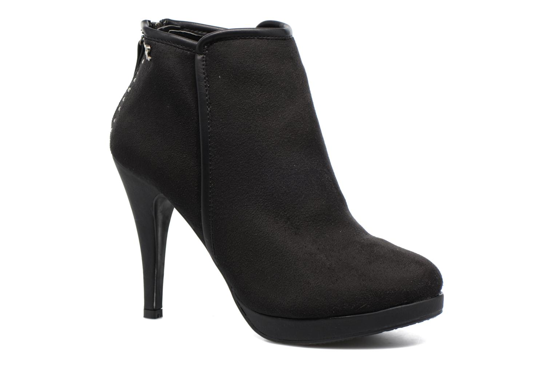 Boots en enkellaarsjes Refresh Elina-61124 Zwart detail