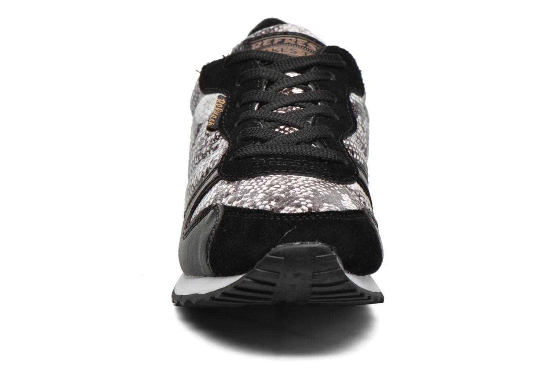 Chaussures à lacets Refresh Lana-61606 Noir vue portées chaussures