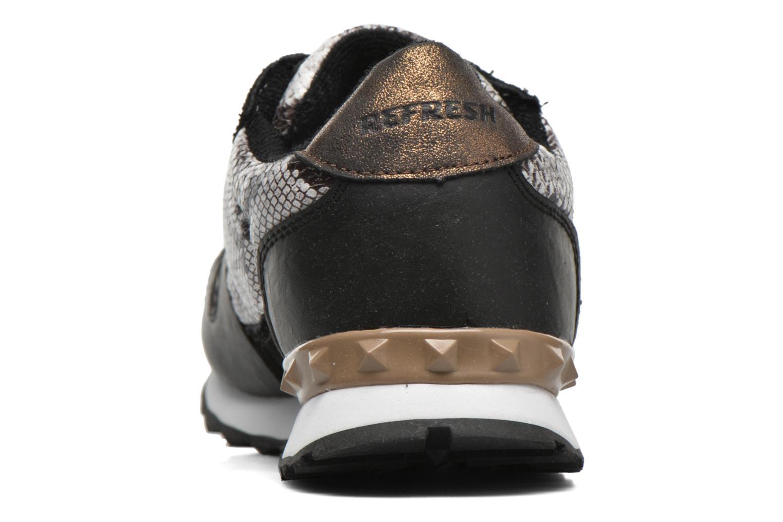 Chaussures à lacets Refresh Lana-61606 Noir vue droite