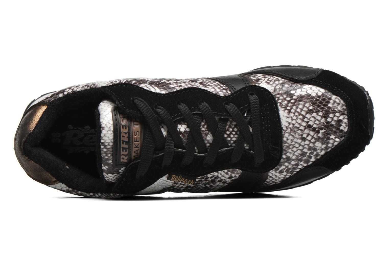 Chaussures à lacets Refresh Lana-61606 Noir vue gauche