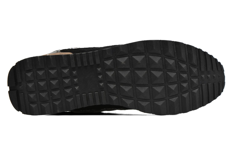 Chaussures à lacets Refresh Lana-61606 Noir vue haut
